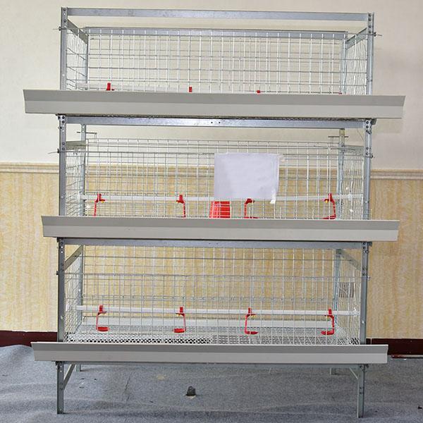 1.4m0.8m框架式肉鸡笼